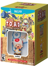 Captain Toad Treasure Tracker Wii U + Figura Nintendo Amiibo Toad