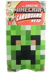Cardboard Minecraft Creeper Head