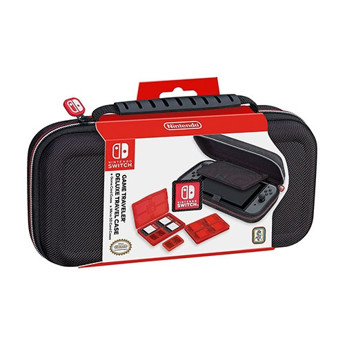 Case Game Traveler Deluxe Black Switch