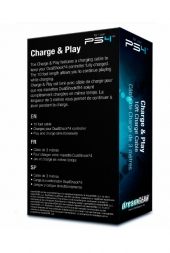 Cargador Charge & Play DGPS4-6415 DREAMGEAR
