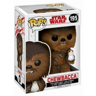 Funko POP! Star Wars The Last Jedi Chewbacca / Porg