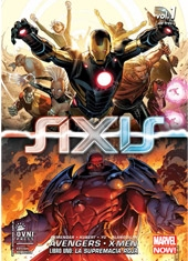Comic Marvel Avengers - X-Men Axis Libro Uno La Supremacía Roja