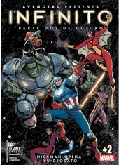 Comic Marvel Infinito #2