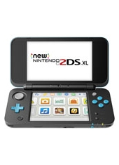 Consola Nintendo New 2DS XL Black and Turquoise