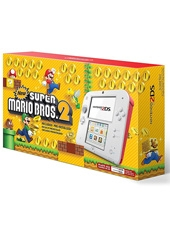 Consola Nintendo 2DS Scarlet Red + New Super Mario Bros. 2