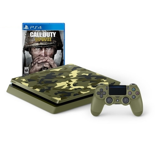Consola PlayStation 4 PS4 1Tb COD WWII Limited Ed.