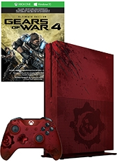Consola Xbox One S 2TB Gears Of War 4 Limited Edition Bundle