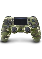 Control Dualshock 4 PS4 Green Camouflage