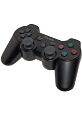 Control Negro Doubleshock PS2 Microlab