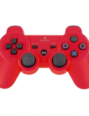 Control, PS3, play3 pla 3, ps 3, Bluetooth, rojo, Ultra