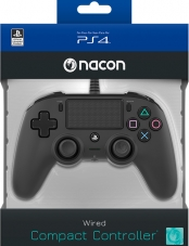 Control PS4 Wired Compact Black Nacon