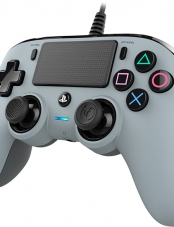 Control PS4 Wired Compact Silver Nacon
