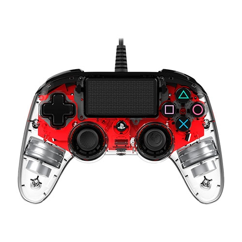 Control PS4 Wired illuminated Compact Red Nacon