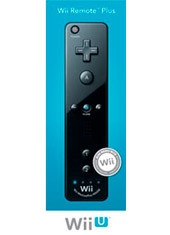 Control Wii U Remote Plus Black Nintendo