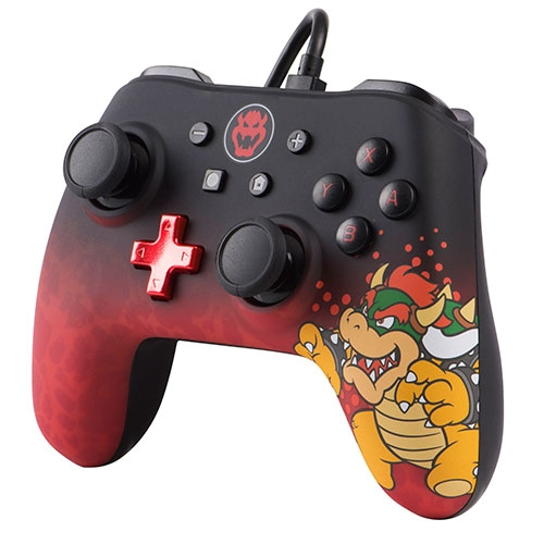Control Switch Wired Iconic Controller Bowser PowerA