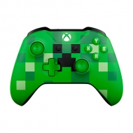 Control Xbox One Green Minecraft Creeper