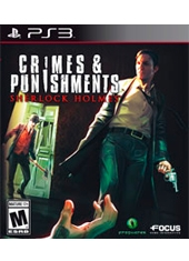 Crimes and Punishments Sherlock Holmes PS3