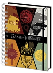 Libreta Game Of Thrones Houses
