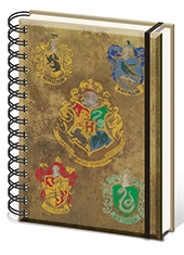 Libreta Harry Potter Houses
