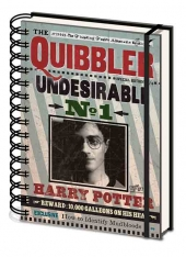Cuaderno, Harry, Potter, HP, Quibbler,