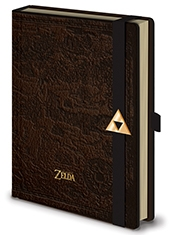 Libreta Premium The Legend Of Zelda Hyrule Map