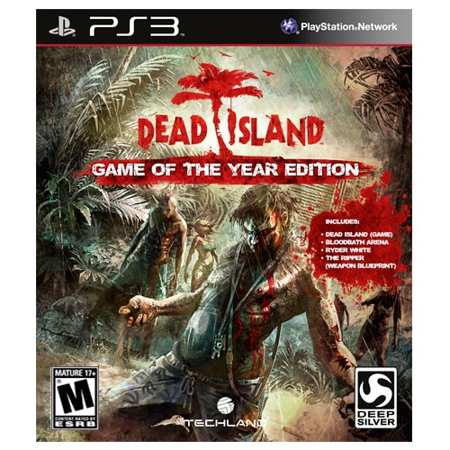 Dead Island Game of the Year Edition GOTY PS3