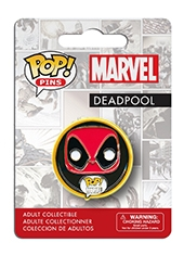 Figura POP! Pins! Marvel Deadpool