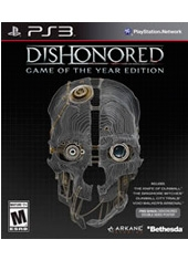 Dishonored Game Of The Year PS3