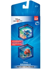 Disney Infinity 2.0 Disney Originals Toy Box Games Disc Pack