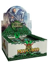 Display 24 Sobres cartas Mitos y Leyendas Midgard