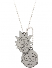 Dog Tag Rick & Morty