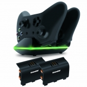 Cargador Xbox One Dual Charging Dock Dreamgear
