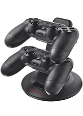 Cargador GXT 243 PS4 Duo Dock Trust