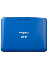 "Dvd Portable C/Tv 7"" Giratorio Azul Fujitel"