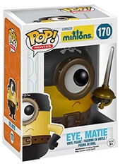 Figura POP! Minions Movie Eye Matie