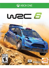 FIA World Rally Championship WRC 6 Xbox One