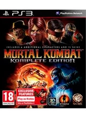 Mortal Kombat Komplete Edition Exclusive Content PS3