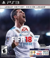 FIFA, 18, FIFA 18, FIFA18, Legacy, Edition, PS3, Playstation 3,