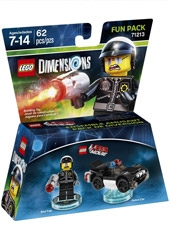 Figura LEGO Dimensions Bad Police & Auto Policial Fun Pack