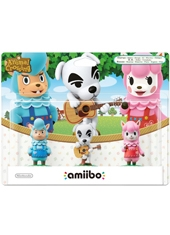 Figura Nintendo Amiibo Animal Crossing 3 Pack