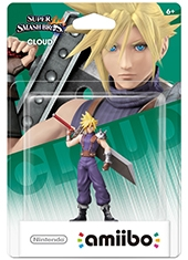 Figura Nintendo Amiibo Cloud Super Smash Bros Series