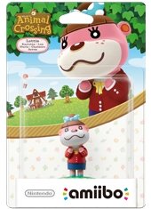 Figura Nintendo Amiibo Animal Crossing Lottie