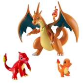 Figura, figure, Pokemon, pokémon, Mega, Evolution, Charizard, Y Set, set y