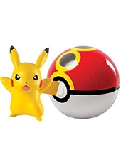 Figura Pokémon Pikachu Repeat Ball TOMY