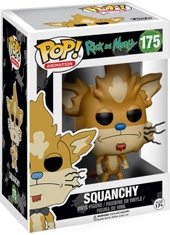 Figura POP! Rick And Morty Squanchy