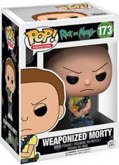 Funko POP! Rick And Morty Weaponized Morty