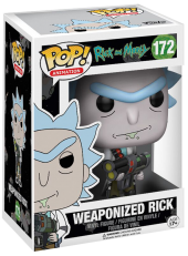 Funko POP! Rick And Morty Weaponized Rick