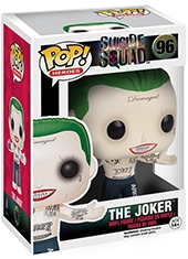 Figura POP Suicide Squad Joker Shirtless Funko