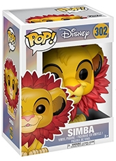Funko POP! The Lion King Simba Leaf Mane