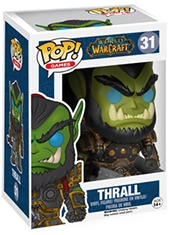 Figura POP World Of Warcraft Thrall Funko